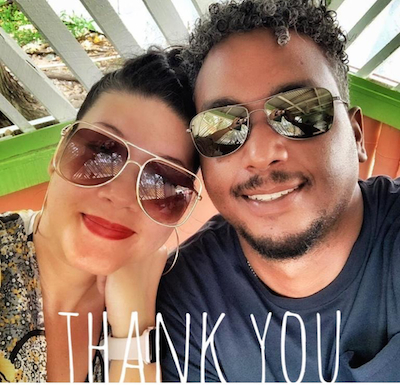 Tessanne Chin reveals her 'babyfather'