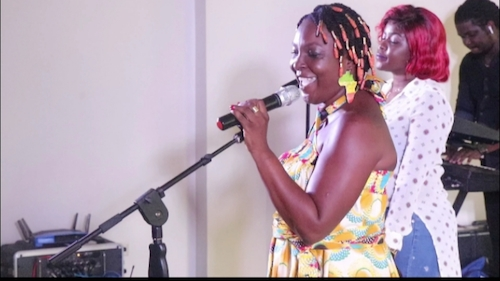Black Queen raises breast cancer awareness with performance