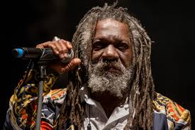 Winston McAnuff leads out the Satta Massagana rhythm from Manatee Records