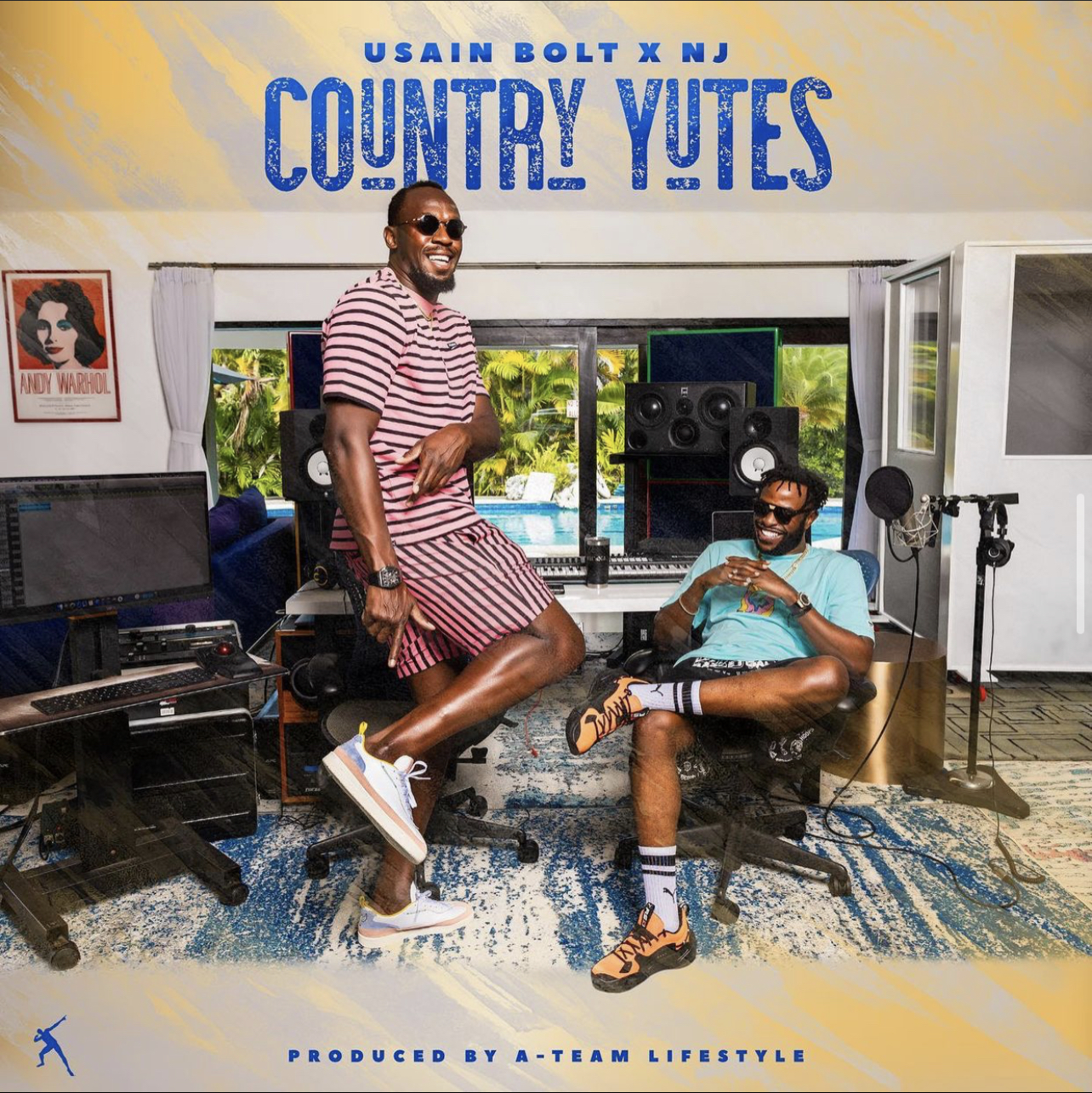 USAIN BOLT HITS TOP TEN WITH 'COUNTRY YUTES'