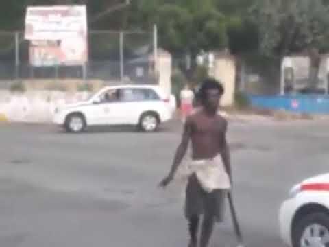 MAD MAN KILLS COP, GUNNED DOWN AFTERWARDS
