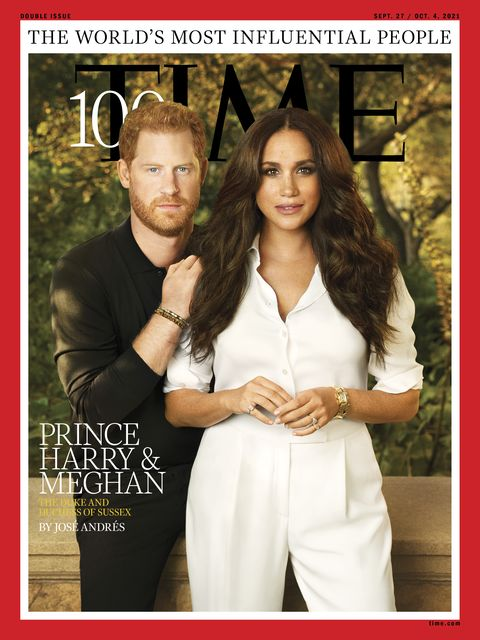 Prince Harry and Meghan Markle featured on cover of TIME magazine